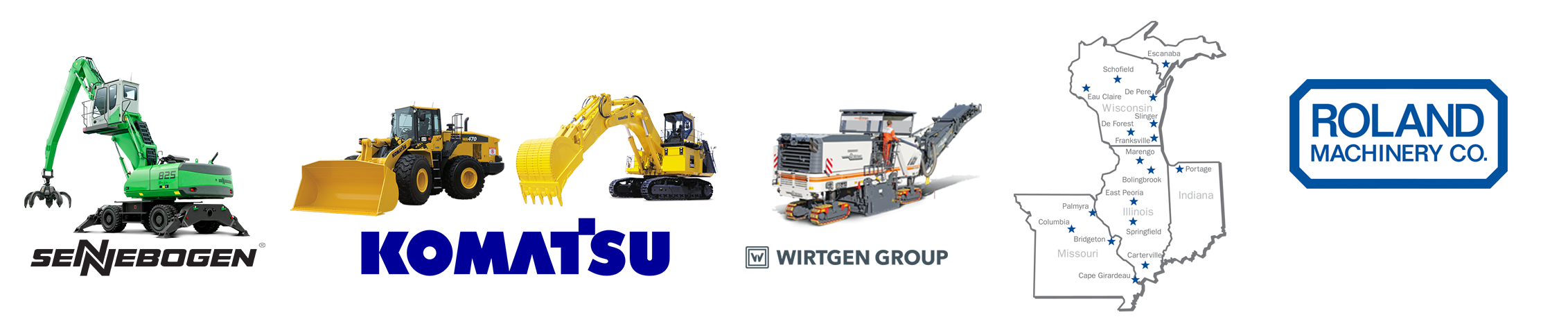 Used Construction Equipment For Sale By Roland Machinery Co  - 80